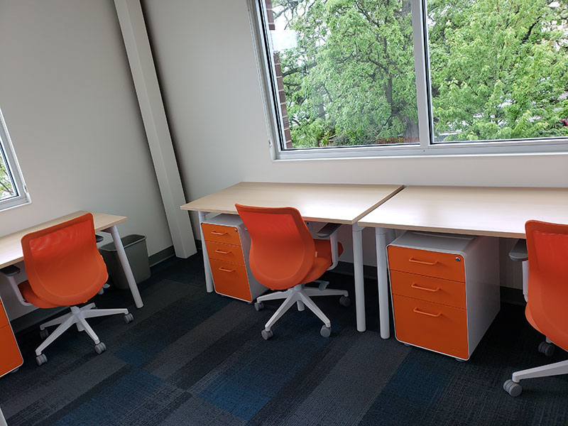 120-158 Square Foot Private Offices Available For Rent | Brix Monona Coworking Space | Madison, Wisconsin