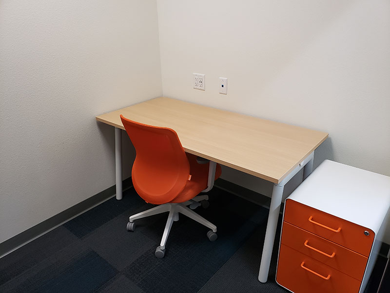 48-62 Square Foot Private Offices Available For Rent | Brix Monona Coworking Space | Madison, Wisconsin
