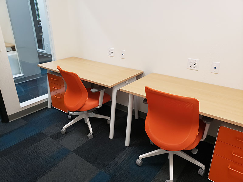 69-72 Square Foot Private Offices Available For Rent | Brix Monona Coworking Space | Madison, Wisconsin