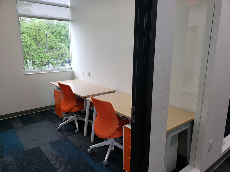 75-84 Square Foot Private Offices Available For Rent | Brix Monona Coworking Space | Madison, Wisconsin