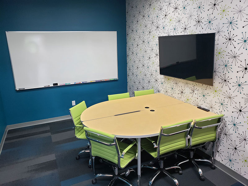 Monona Huddle Room for Public Rental | Brix Monona Coworking Space | Madison, Wisconsin