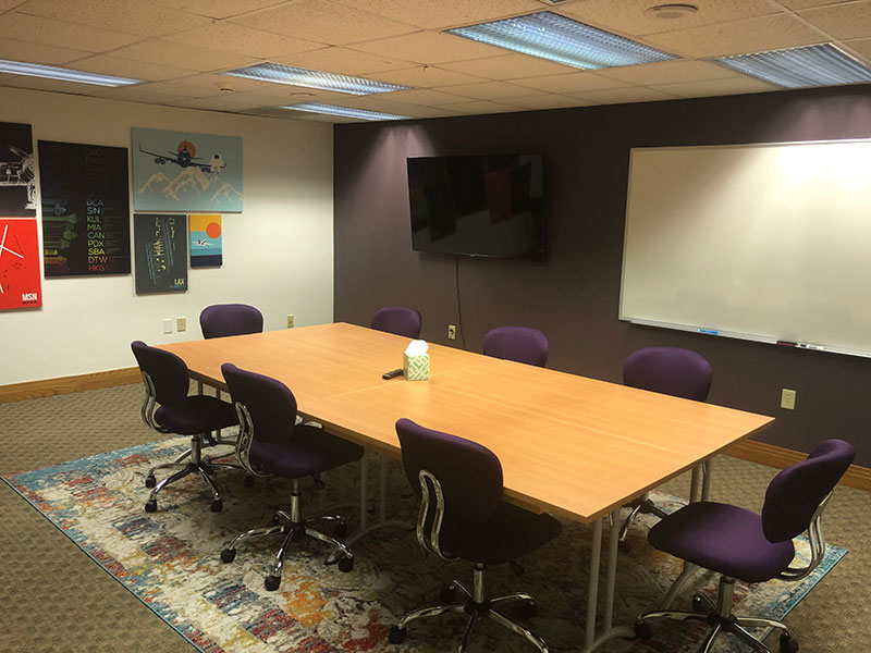 Downtown Madison Conference Room for Members | Brix Madison Coworking Space | Madison, Wisconsin