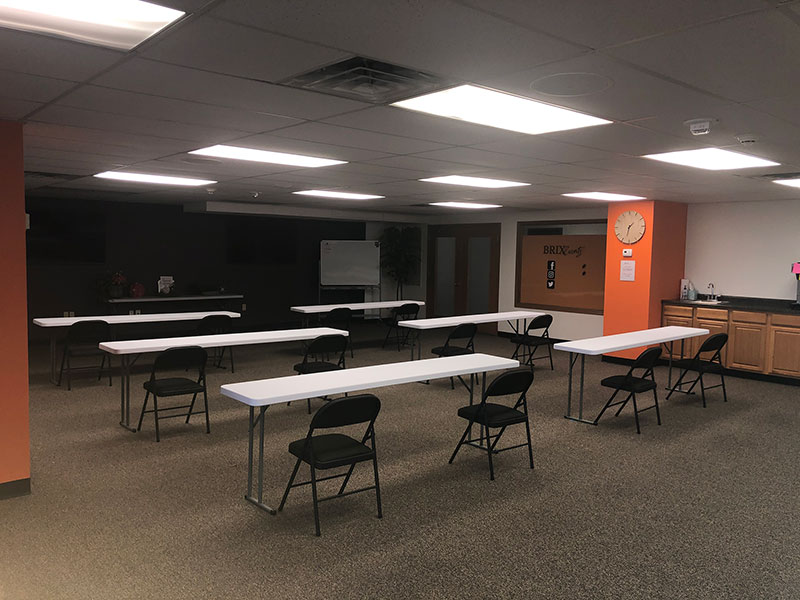 Downtown Madison Event Space for Members | Brix Madison Coworking Space | Madison, Wisconsin