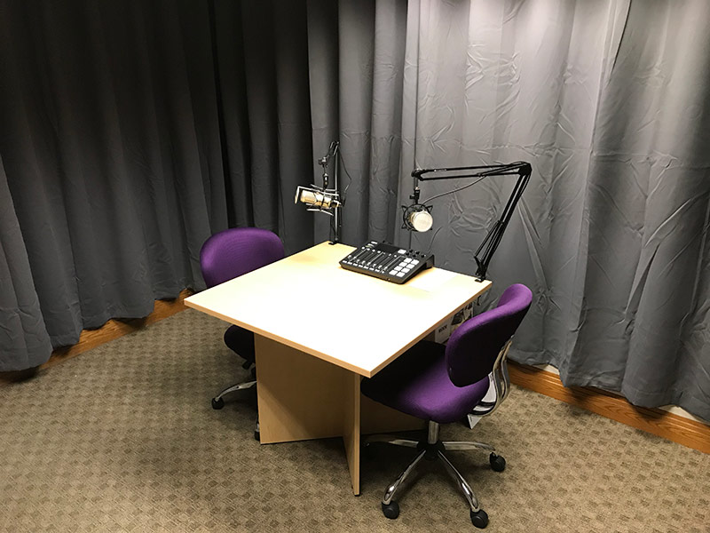 Downtown Madison Podcast Studio for Public Rental | Brix Madison Coworking Space | Madison, Wisconsin