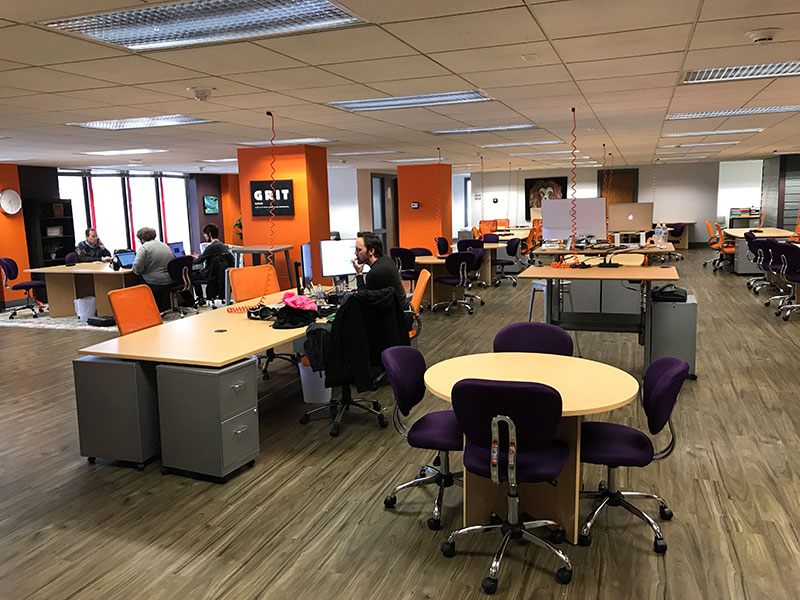 Dedicated Desks Available For Rent | Brix Madison Coworking Space | Madison, Wisconsin